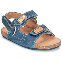 Chaussures Garçon Sandales et Nu-pieds Mod'8 KORTIS Bleu jean