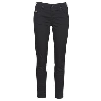 Vêtements Femme Jeans slim Diesel BABHILA Noir 069EI
