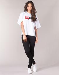 Vêtements Femme Jeans skinny Diesel SLANDY Noir 069EF