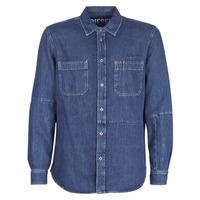 Vêtements Homme Chemises manches longues Diesel D FRED Bleu