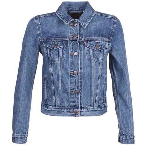 Vêtements Femme Vestes en jean Levi's ORIGINAL TRUCKER Bleu Medium