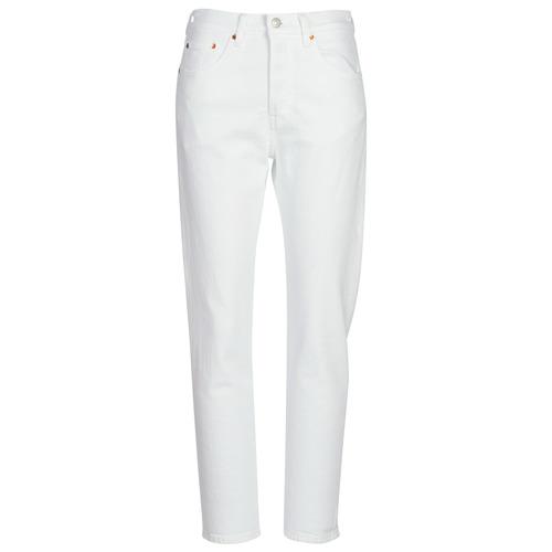 Vêtements Femme Jeans boyfriend Levi's 501 CROP In The Clouds