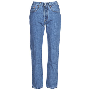 Vêtements Femme Jeans droit Levi's 501 CROP Lost Cause