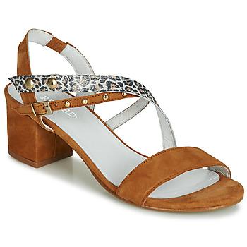 Chaussures Femme Sandales et Nu-pieds Regard REFTA V1 ANTE CAMEL Marron
