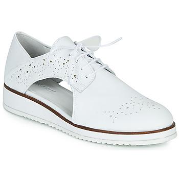 Chaussures Femme Derbies Regard RIXAMU V1 NAPPA BLANC Blanc