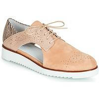 Chaussures Femme Derbies Regard RIXULO V1 VEL ROSE Rose