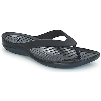 Chaussures Femme Tongs Crocs SWIFTWATER FLIP W Noir