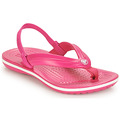 Chaussures Fille Tongs Crocs CROCBAND STRAP FLIP K Rose