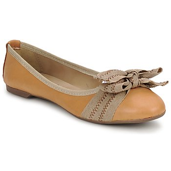 Chaussures Femme Ballerines / babies StylistClick LUNA Marron
