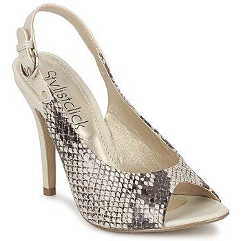 Chaussures Femme Sandales et Nu-pieds StylistClick RUTH Beige / Celadon