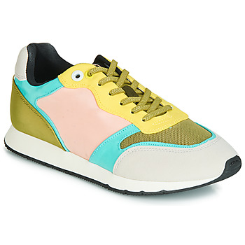 Chaussures Femme Baskets basses MTNG HANNA Rose / Jaune / Turquoise