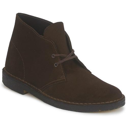 Chaussures Homme Boots Clarks DESERT BOOT Marron