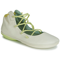 Chaussures Femme Ballerines / babies Camper RIGHT NINA LACE Beige
