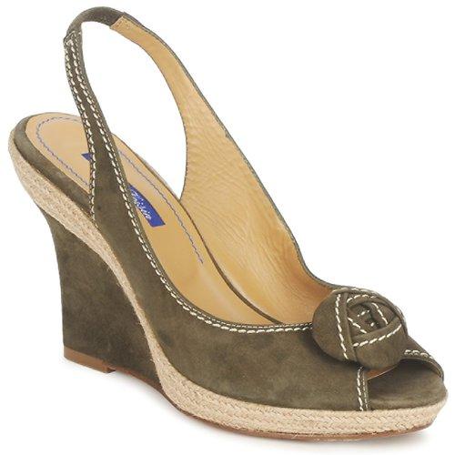 Chaussures Femme Sandales et Nu-pieds Atelier Voisin ALIX Kaki