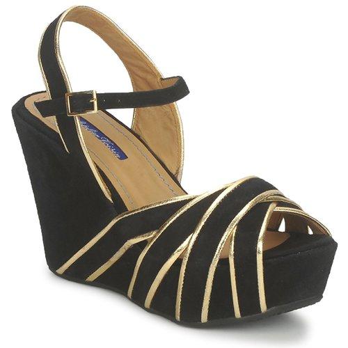 Chaussures Femme Sandales et Nu-pieds Atelier Voisin FACTOR Noir