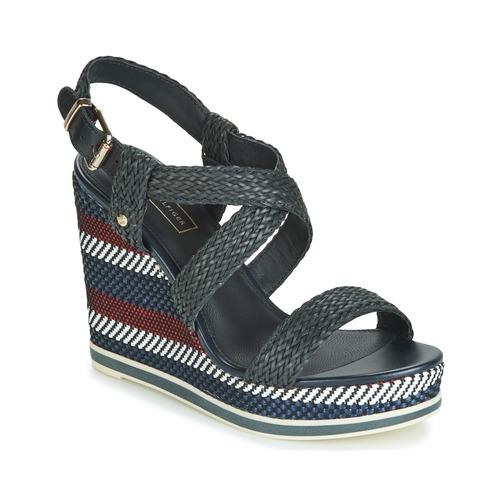 Chaussures Femme Sandales et Nu-pieds Tommy Hilfiger VANCOUVER 9Y Marine