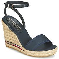 Chaussures Femme Sandales et Nu-pieds Tommy Hilfiger ELENA 78C1 Marine