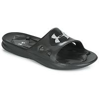Chaussures Homme Claquettes Under Armour Locker III SL Noir
