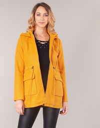 Vêtements Femme Manteaux Moony Mood JANTO Jaune