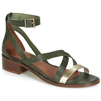 Chaussures Femme Sandales et Nu-pieds Casual Attitude COUTIL Vert