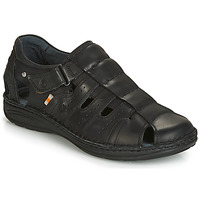 Chaussures Homme Sandales et Nu-pieds Casual Attitude ZIRONDEL Noir
