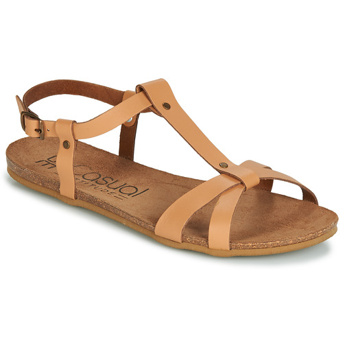 Chaussures Femme Sandales et Nu-pieds Casual Attitude JALIYAXE Camel