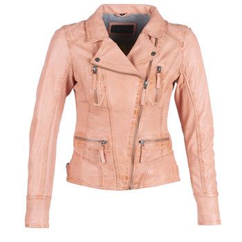 Vêtements Femme Vestes en cuir / synthétiques Oakwood CAMERA Pêche