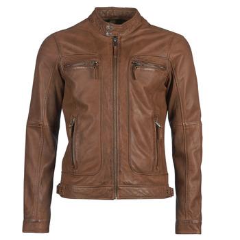 Vêtements Homme Vestes en cuir / synthétiques Oakwood CASEY Cognac