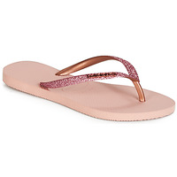 Chaussures Femme Tongs Havaianas SLIM GLITTER Rose