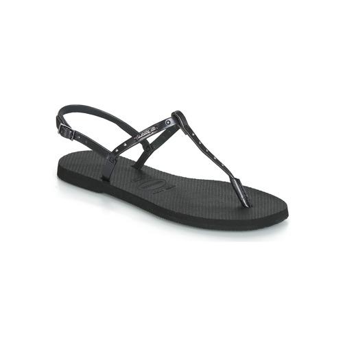 Chaussures Femme Sandales et Nu-pieds Havaianas YOU RIVIERA MAXI Noir