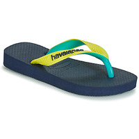 Chaussures Tongs Havaianas TOP MIX YELLOW/NAVY