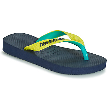 Chaussures Tongs Havaianas TOP MIX Jaune