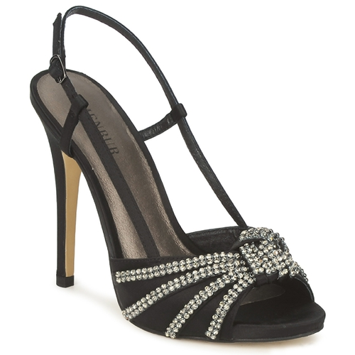 Chaussures Femme Sandales et Nu-pieds Menbur ACER Noir