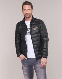Vêtements Homme Doudounes Emporio Armani EA7 CORE ID 8NPB02 Noir / Doré