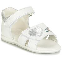 Chaussures Fille Sandales et Nu-pieds Citrouille et Compagnie JAFALGA Blanc