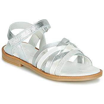 Chaussures Fille Sandales et Nu-pieds Citrouille et Compagnie JARILOU Argenté