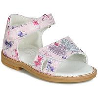 Chaussures Fille Sandales et Nu-pieds Citrouille et Compagnie JARILOUTE Rose
