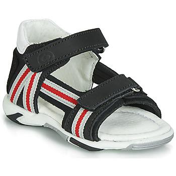 Chaussures Garçon Sandales et Nu-pieds Citrouille et Compagnie JATILETTE Noir