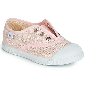 Chaussures Fille Baskets basses Citrouille et Compagnie JANOLIRE Rose métallisé