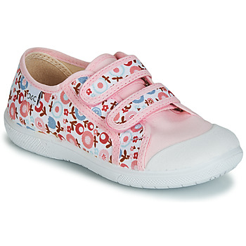 Chaussures Fille Baskets basses Citrouille et Compagnie GLASSIA Rose / Rouge