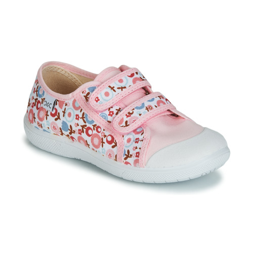 Chaussures Fille Baskets basses Citrouille et Compagnie GLASSIA Rose / Rouge