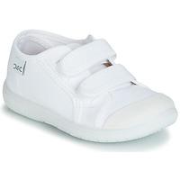Chaussures Enfant Baskets basses Citrouille et Compagnie GLASSIA Blanc
