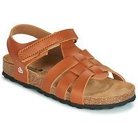 Chaussures Garçon Sandales et Nu-pieds Citrouille et Compagnie JANISOL Marron