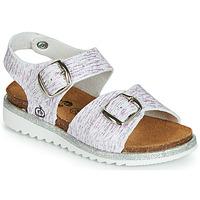 Chaussures Fille Sandales et Nu-pieds Citrouille et Compagnie JANETTA Blanc / Violet