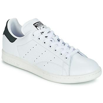 Chaussures Baskets basses adidas Originals STAN SMITH Blanc / noir