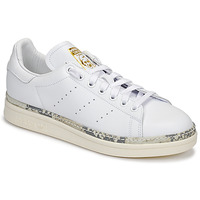 Chaussures Femme Baskets basses adidas Originals STAN SMITH NEW BOLD Blanc