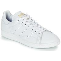 Chaussures Femme Baskets basses adidas Originals STAN SMITH W Blanc