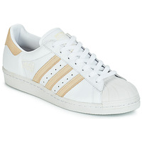 Chaussures Baskets basses adidas Originals SUPERSTAR 80s Blanc / beige