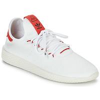 Chaussures Baskets basses adidas Originals PW TENNIS HU Blanc / Rouge