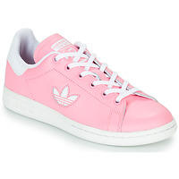 Chaussures Fille Baskets basses adidas Originals STAN SMITH J Rose